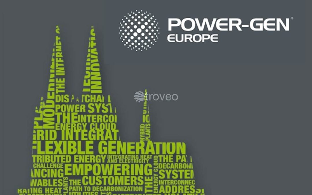 The troveo team presented the merits of the second-hand power plant market at this year's POWER-GEN conference in Cologne