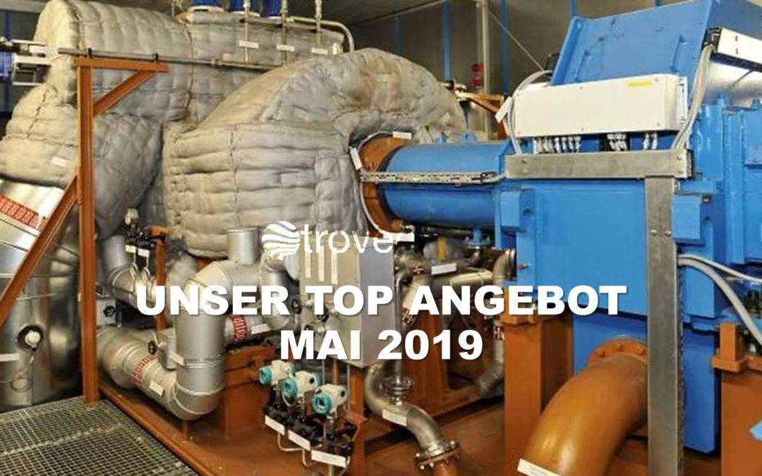 Top-Angebot Mai 2019: Recht neuer, nur saisonal genutzter 22 MWel Dampfturbinen-Generatoren Satz neu im Angebot bei troveo