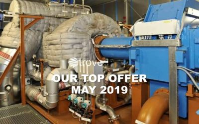 May 2019 Top Offer: Quite new, seasonally used 22 MWe steam turbine generation set for sale at troveo