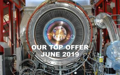 June 2019 Top Offer: Moderately used 7 MWe gas turbine generation set for sale at troveo