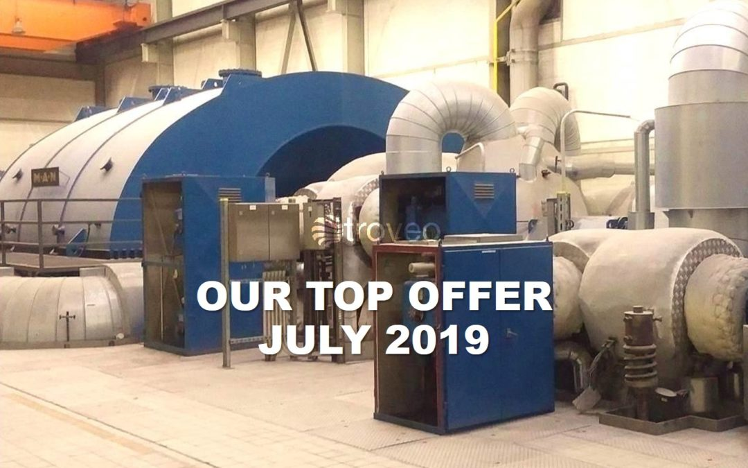 Top Offer of July: 330 MWe, 50 Hz coal-fired power plant still in operation, retrofitted and partly renewed just 5 years ago