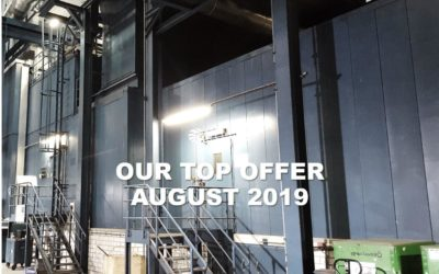 Our Top Offer of August 2019: This 250 MWe, 50 Hz, gas-fired twin GT-generator set will still be in operation until early 2020 and was commissioned just 15 years ago