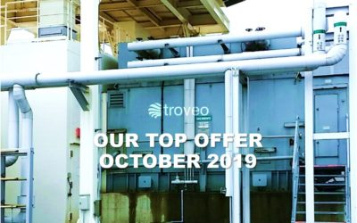 October 2019 Top Offer: 34 MW Open Cycle Gas Turbine Generator Unit For Sale, 50 Hz, unused, ready for dismantling