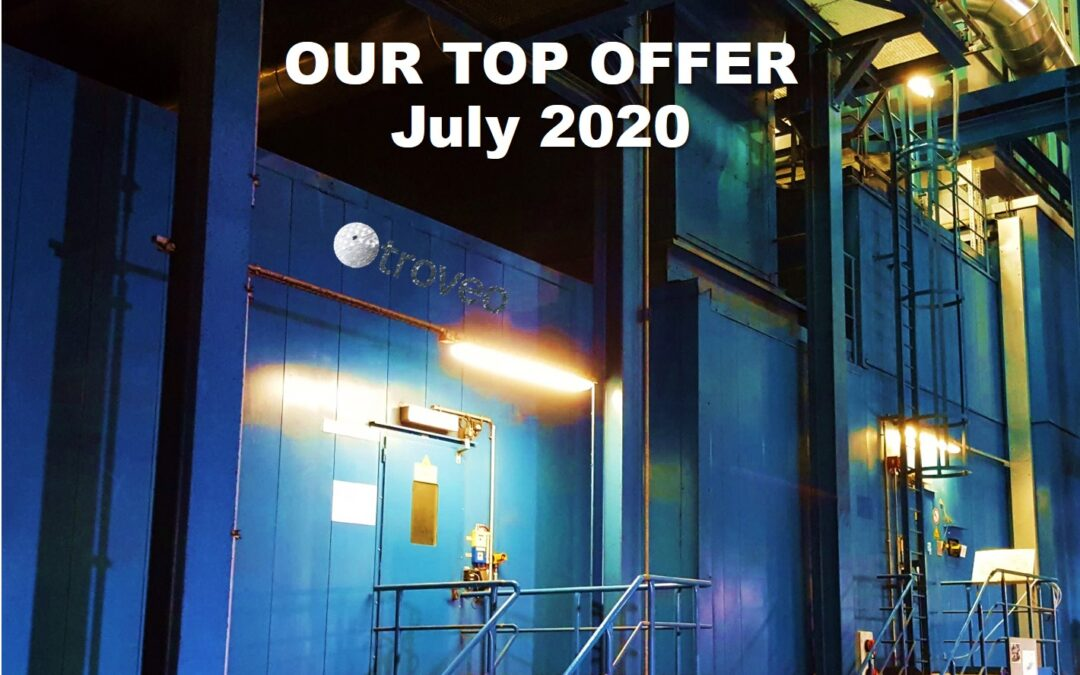 July 2020 Top Offer: 2x 125 MW GE Frame 9E gas units for dismantling from spring 2021 onwards, 50 Hz, 15 years old