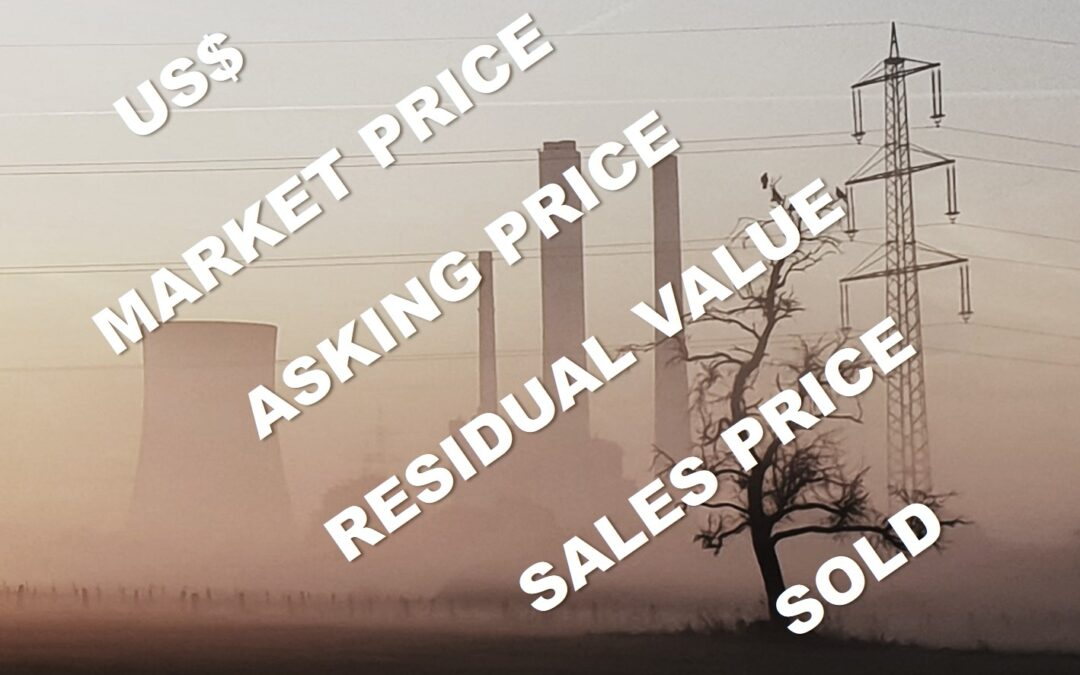How could you make the best out of your used power plant sale?