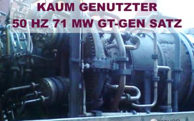 Top-Angebot Mai 2021: Zum Verkauf steht eine zum Transport bereite 50 Hz, kaum genutzte 71 MW Gasturbineneinheit mit GE 6FA Turbine in sehr gutem Zustand